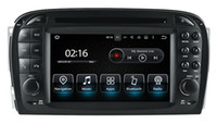 Compra Mercedes Video-Navigazione GPS per auto Android 7.1 per Mercedes Benz SL R230 2001 2002 2003 2004 con Radio BT TV USB AUX Audio Video Stereo