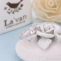 Wholesale Dhl Jewellery - 2016 New Arrives Three Colors Ring Pendant Collar, Best Friend Jewelry Colar Party Jewellery The Birthday Gift for Friend BY DHL 161192