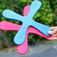 Wholesale Red Frisbees - Safe EVA Dart Flying Boomerang Back Frisbee EVA Leaf Boomerang Dart Back And Forth Popular Indoor Outdoor Sports Toys For Kids