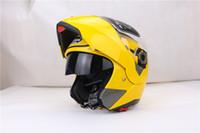 Wholesale Dual Visor Helmets - 2016 Jiekai 105 flip up motorcycle helmet with inner sun dual visor system everybody can use