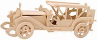 coches de juguete de montaje al por mayor-Envío gratis ------ En 2016 Año Nuevo producto de Bentley Car 3 d Simulación de madera / Stereo DIY Ensamblaje Modelo Juguetes educativos