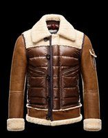 Wholesale White Coat Leather Sleeves - M Delacroix Duck Down Jacket 100% Real For Men Parka Winter Warm Fashionable outdoor Lightweight Coat Doudoune Homme