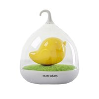 Wholesale Kids Birdcage - New Lovely Home Baby kids USB LED touch night lights birdcage lamps charge smart home sensor for sleeping lovely kids gift