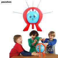 spin meister spielzeug großhandel-1 STÜCK Boom Ballon Spiel Nicht Blasen Kinder Große Familie Spaß Spielzeug Kreative Spin Master antistress Verrückte Partei Streich Lustiges spielzeug