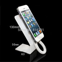 Wholesale Wholesale Dummy Cell Phones - Free Shipping Cell phone Display stand for dummy display stand with spring