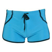 Wholesale Swimsuit For Beach Men - Wholesale-2016 New solid High Quality shorts Brand Men Shorts For Beach male men swimsuit swimming trunks Surf board shorts 8 colors L-2XL
