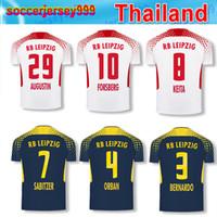 Wholesale Camisetas Futbol Thai Quality - 2017 2018 RB LEIPZIG soccer jerseys 17 18 Adult men KEITA WERNER POULSEN CAMISETAS FUTBOL thai quality thailand football shirts uniforms