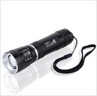 Wholesale Torche Ultrafire - Mini Cree Q5 Linterna LED Flashlight 18650 Zoomable 3-Mode Lampe Torche Linterna LED Torch Light Outdoor Lighting Waterproof K31