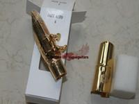 types de saxophone achat en gros de-Gros- JAZZ ALTO Saxophone alto Embouchure mentale jazz couleur dorée, Number5 # 6 # 7 # (type de note)