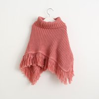 Wholesale Cape Poncho Coats For Girls - Baby Girls Poncho Cape Christmas 2017 Autumn Winter Childrens Kids Clothing Party Poncho Cape Girls clothes coats for girls