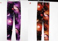 Wholesale Wholesale Galaxy Legging - Fashion Hot Women Leggings Stretch High Waist Luxurious Galaxy Print Legging Space Tight Pants Fadeless