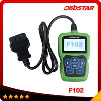 Wholesale Nissan Pin Code - OBDSTAR F102 for Nissan Infiniti Automatic Pin Code Reader with Immobiliser and Odometer Function free shipping