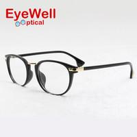 8c3d71c4de1 Wholesale- Women eyeglasses myopia retro vintage optical glasses unisex spectacle  frame lady eyeglass frame hot sale 77598