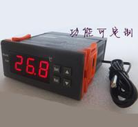 dijital termostat sıcaklık kontrolü toptan satış-1 adet / grup Yeni 220 V Dijital Akıllı Sıcaklık Kontrol Anahtarı Isıtma ve soğutma kontrolleri fonksiyonu ile Termostat