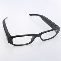 Wholesale Glass Spy Camera - Mini Spy Hidden Eyewear Glasses Cam Camera DVR Video Recorder Camera