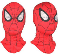 Trasporto libero, Cosplay bambini e adulti Spiderman maschera / Spider-Man Guanti accessori per la casa Cosplay Halloween Party