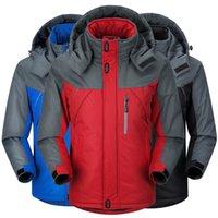 Wholesale Canada Outwear - Wholesale- New 2015 Warm Winter Jacket Men Famous Brand Duck Down Hooded Jacket Men Outwear Canada Down Jacket Suit Windbreaker 6131