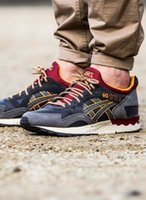 Wholesale Golf Shoes Brown Leather - Whosale 2016 Best Asics Gel-Lyte V Men Shoes Running Shoes High Quality Cheap Training Lightweight Online Retro Basketball Shoes Eur 36-45