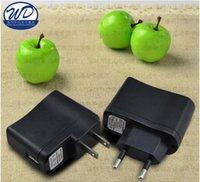 carregadores de parede ecig usb venda por atacado-Universal Carregadores de Parede Eletrônica para Ecig Telefone Móvel PDAs Carregadores de MP3 EUA Adaptador GB GB Plug USB Wall Carregador de Viagem Qualidade SUPERIOR