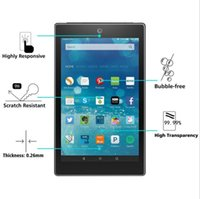 wholesale For Kindle Fire HD8 Tempered Glass Screen protector (without packing )
