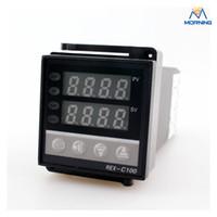 Wholesale Digital Pid Temperature Controller Rex - REX-C100 48*48mm AC 85~265V, 50HZ Hot Sale Intelligent PID Digital Temperature Controller, Temperature Instruments made in China