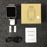Wholesale Wholesale Track Phones - Top Quality DZ09 Smart Watch Bluetooth smart bracelet Wristband dz09 watch SIM Intelligent mobile phone with sleep track camera DHL Free