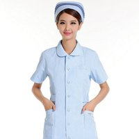 9807efb0719 Summer can't afford to nurse short-sleeved white blue and pink beauty overalls  uniform ball antibacterial fabrics HX - 20. Supplier: partersun