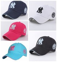 Wholesale Ball State Cap - New Europe and the United States wind cotton letters embroidery baseball hat female couple outdoor sports leisure sunscreen cap