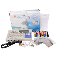 Wholesale New Wave Electric - 10 Output Pro Acupuncture Electric Needle Massager Health Care pulse wave Hwato SMY-10A New 110v OR 220v