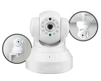 Wholesale webcam ip wifi online - 2017 Wireless IP Camera WIFI Webcam Night Vision UP TO M LED IR Dual Audio Pan Tilt Support IE S61 High Quality DHL
