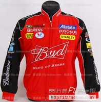 Wholesale Motor Drivers - Wholesale- F1 automobile Dodge driver windproof jacket zipper car logo motor jacket