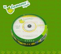 Wholesale Bananas Music - Banana cd disc burning discs blank discs cd-r car music discs 10pcs lot