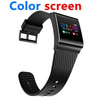 Wholesale Blood Red Color - x9-pro color screen smart bracelet Android 4.4 above iOS above Support bluetooth 4.0 APK APP Moible phone Smartwatch Wristbands dz09 Z60 A1