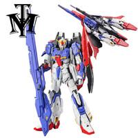 Wholesale Pvc Figure Gundam - Anime Daban MG 1 100 Zeta am Ver.2.0 MSZ-006 Transformable Model Assemble Action Figure Robot kids Toy Original Box