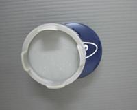 fiesta-stil großhandel-Auto-styling 4pcs / lot 54mm blau / silber auto radnabe zentrum abdeckkappen emblem logo abzeichen für ford fiesta focus fusion mondeo escap 6m211003aa