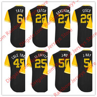 Wholesale Hay Moisture - Custom Pittsburgh Nickname Jerseys #22 Cutch Starling Marte 6 Tato 45 Gerrit Cole Train Gregory Polanco 25 El Coffee #29 Cisco #5 J Hay #23
