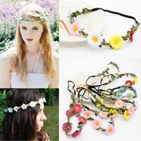 Frauen Girlande Hairband Blume Braut Hochzeit Stirnband Seaside Travel Headwear # R48