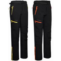 Wholesale Fly Tech - Windproof Camping Sport Pants Winter Ski Tech Fleece Mens Softshell Waterproof Male Trekking Sportwear Outdoor Hiking Trousers