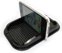 Wholesale Car Gel Cell Phone Mat - 50pcs Multi-functional car Anti Slip pad PU gel Mobile Phone Shelf Non slip Mat For GPS IPhone  Cell Phone Holder
