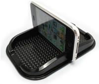 ingrosso supporto per porta iphone-50pcs multi-funzionale auto anti slip pad PU gel mobile scaffale del telefono non antiscivolo per GPS / IPhone / supporto del telefono cellulare