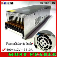 12v eingang led-lichtstreifen großhandel-400W 33.3A 12V Netzteil für LED-Lichtleiste AC90-265V Eingangsspannung, LED-flexibles Netzteil 400W