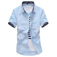 Wholesale Flax Dress Xl - Wholesale-2016 summer high quality linen men's shirts short sleeve male casual business shirts flax dress shirt for man camisa masculina