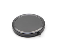Hot Black Chrome Compact Mirror em branco personalizado Magnified Makeup Cosmetic Mirror favores Gift # M070SB DROP SHIPPING
