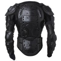 Wholesale Motocross Chest Protection - Motorcycle Full Body Armor Jacket motocross protector Spine Chest Protection Gear~ M L XL XXL