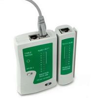 testador de cabos rj45 rj11 rj12 venda por atacado-Chegam novas RJ45 RJ11 RJ12 CAT5 Rede UTP LAN USB Cable Tester Ferramentas de Teste Remoto