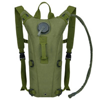 Wholesale Military Tactical Backpack For Outdoor - Tough Military Style Hydration Pack with 3L Bladder Outdoor Tactical Hydration Backpack for Hiking Camping Cycling Running