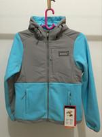 Wholesale Down Jackets Women Hoodies - New Winter Womens Fleece Hoodies Jackets Fashion Ski Down Coats Outdoor Windproof Warm Sportswear Mens Kids Wholesale