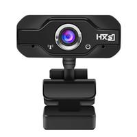 hd kamera tv kutusu toptan satış-Webcam 720 P HD Web Kameralar Dönebilen 1280 * 720 Bilgisayar Web Kam PC Kamera Android TV Box Laptop için Mic Mikrofon ile Netbook