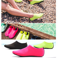 Wholesale Swimming Slip - New Men Women Swimming Shoes Soft Fitness Slip-on Water Shoes Beach Fishing Slip-on Water Shoes Beach Fishing Breathable Summer outdoor shoe