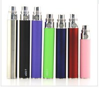 Wholesale Atomizer Durable - 50pcs E cigarette Ego T battery fit CE4 CE5 Atomizer 510 thread 1100mah ego CE4 battery Overvoltage protection, safe and durable